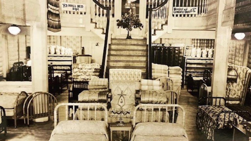 McRoskey Historic Showroom Floor  1925